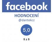100 % spokojených zákazníků na Facebooku