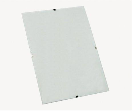 Lehký kliprám 62x93 cm se díky plexisklu jen tak nerozbije. Je snadným způsobem, jak prezentovat obrázek či fotografii.