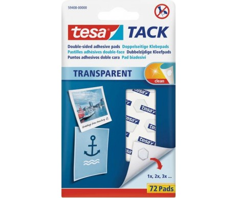 Lepicí polštářky Tesa Tack slouží k lepení plakátů a fotografií na různé typy povrchů.