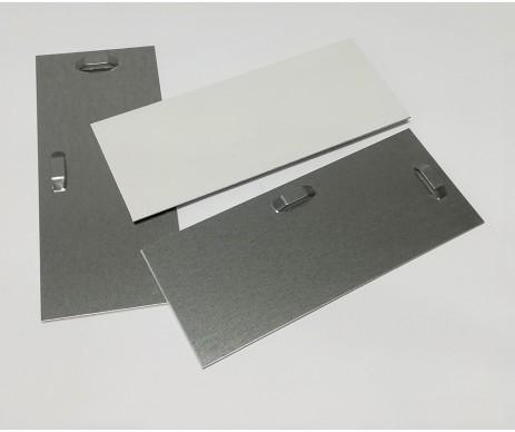 Velký samolepicí plech pro zavěšení plochého obrazu či zrcadla na zdi se snadno montuje na zadní stranu obrazu díky samolepicí vrstvě
